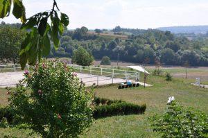 Reitplatz auf Hof SIedental