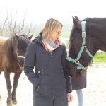 Brita im Modul Pferdegestütztes Coachin