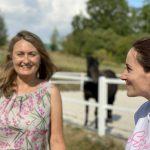 Frauen im Pferdecoaching